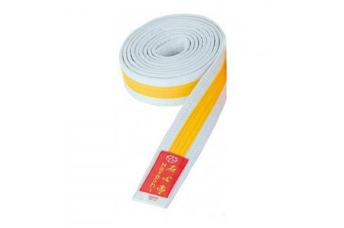 Pásek Hayashi - bílá/žlutá bílá 260 Pásky ke kimonu