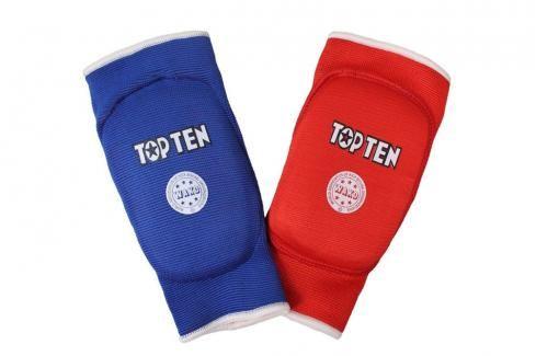 Oboustranné chrániče loktů TOP TEN WAKO červená XL Boxerské chrániče
