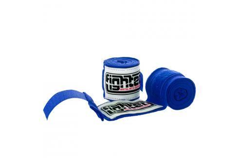 Bandáže Fighter - modrá modrá 2,5 Boxerské bandáže