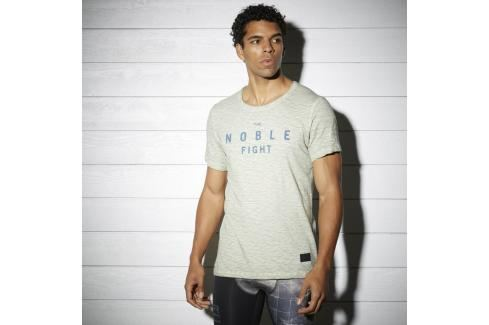 Reebok triko Noble Fight zelená L Pánská trička