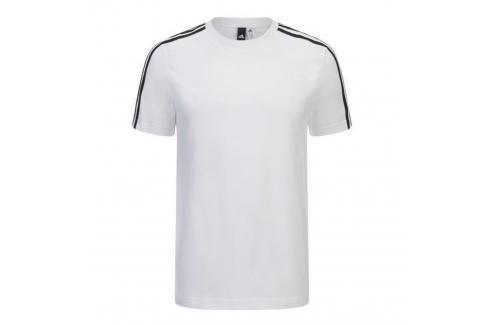 adidas promo triko 3S bílá L Pánská trička