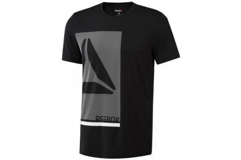 Reebok Graph Tech triko černá S Pánská trička