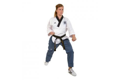 adidas Poomsae dobok dámský bílá 160 Taekwondo WTF