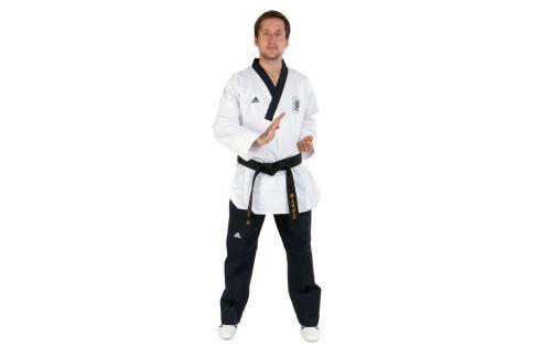 adidas Poomsae dobok pánský černá 160 Taekwondo WTF
