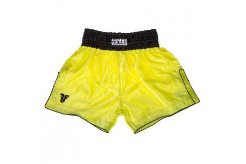 Thai trenky Fighter Bangkok Plain -neon.žlutá/černá neon. žlutá L Pánské šortky