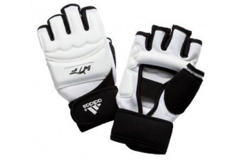 Chrániče rukou adidas WTF bílá XS Boxerské rukavice