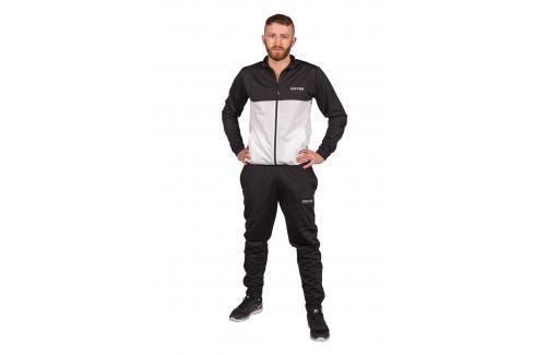 Tepláková souprava TOP TEN - černá/bílá černá 160 Pánské kalhoty