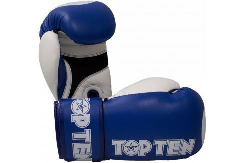 Boxerské rukavice Top Ten XLP WAKO - modrá modrá 10 Boxerské rukavice