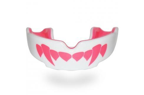 SAFEJAWZ chrániče zubů Fangz-Pink bílá Boxerské chrániče
