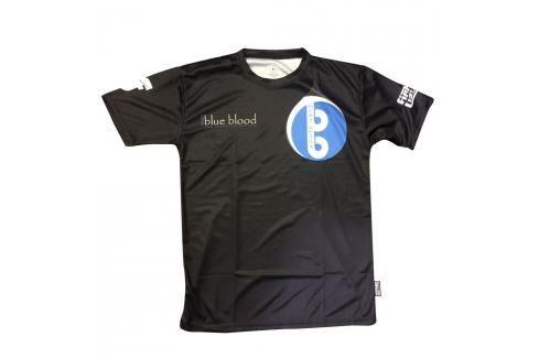 Tréninkové triko Fighter - Blue Blood černá XXXS Pánská trička