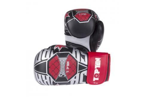 Top Ten boxerské rukavice Samuraj XLP černá 10 Boxerské rukavice