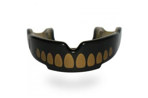 SAFEJAWZ chrániče zubů Goldie zlatá Boxerské chrániče