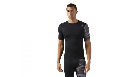 Reebok Activchill Graphic komprení Triko černá S Pánská trička