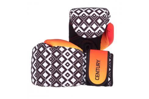 Strive Century omyvatelné rukavice Aztec Sunrise oranžová 10 Boxerské rukavice