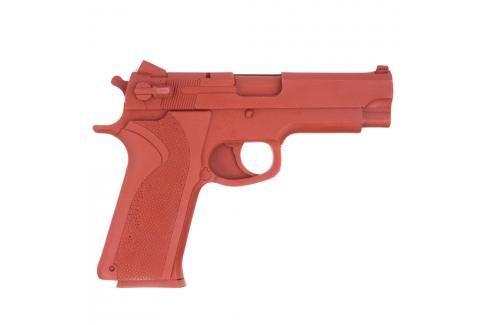 ASP S&W 10MM gumová pistole červená Gumové pistole