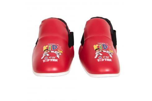 Top Ten Kids Generation chrániče nohou ITF Taekwon-Do červená XS Boxerské chrániče