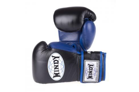 Boxerské rukavice Windy Proline - černá/modrá černá 10 Boxerské rukavice