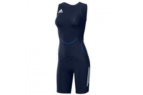 adidas dres dámský WR Suit Classic - modrá modrá 38 Pánská trička