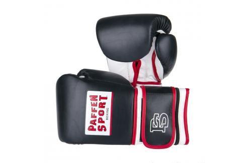 Paffen Sport Profi boxerské rukavice se závažím černá velikost M/L Boxerské rukavice