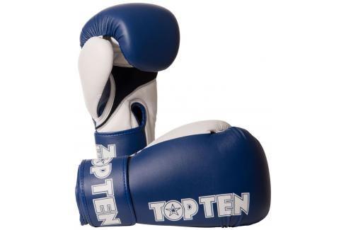 Boxerské rukavice Top Ten XLP - modrá/bílá modrá 10 Boxerské rukavice