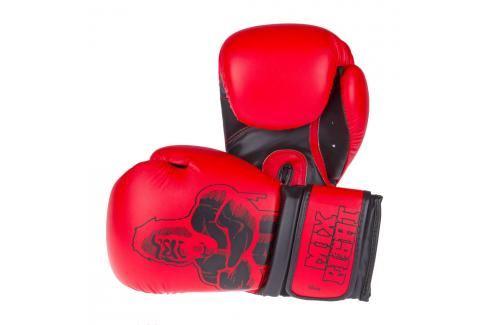 Top Ten boxerské rukavice MIXFIGHT Gorilla - červená/černá červená 10 Boxerské rukavice
