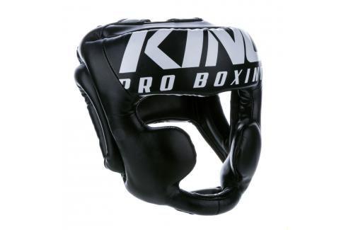 Přilba King - černá černá M Boxerské helmy