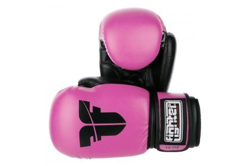 Rukavice Fighter Basic - baby růžová baby růžová 6 Boxerské rukavice