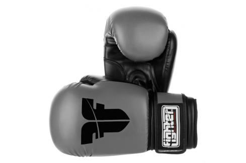 Rukavice Fighter Basic - šedá šedá 6 Boxerské rukavice