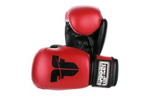 Rukavice Fighter Basic - červená červená 6 Boxerské rukavice