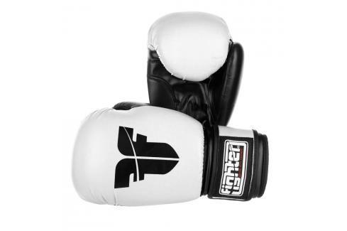 Rukavice Fighter Basic - bílá bílá 6 Boxerské rukavice