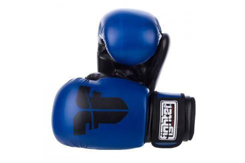 Rukavice Fighter Basic - modrá modrá 6 Boxerské rukavice