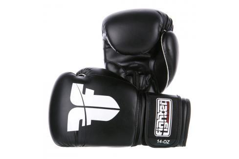 Rukavice Fighter BOX / MUAY THAI černá 10 Boxerské rukavice