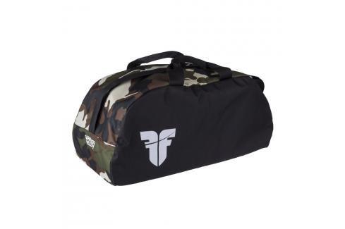 Sportovní taška GYM Fighter - černá/maskáč černá Batohy