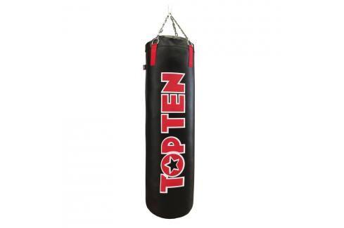 Boxovací pytel Top Ten 180 cm Velké Logo - černá/červená černá Pytle a hrušky