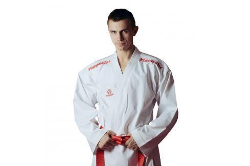 Hayashi kumite kimono Flexz WKF approved - Bílá/červená bílá 170 Kimona