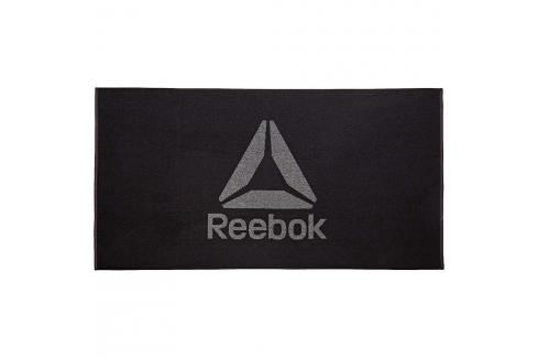 Reebok ručník - logo černá Švihadla