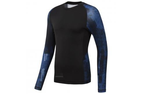 Reebok Combat LS rashguard černá S Pánská trička