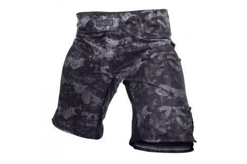 MMA Trenky Fighter - Urban Camo -černá černá XL Pánské šortky