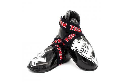 Chrániče nohou Top Ten SuperLight glossy - černé černá L Boxerské chrániče