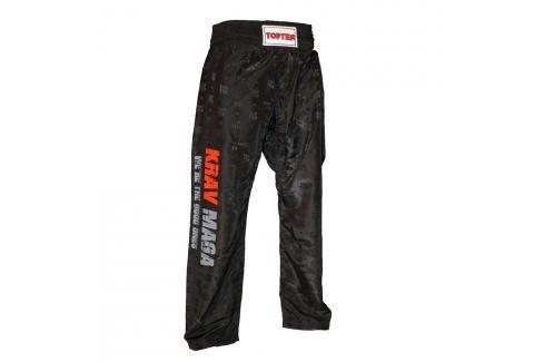 Kalhoty Top Ten Krav Maga černá S Pánské kalhoty