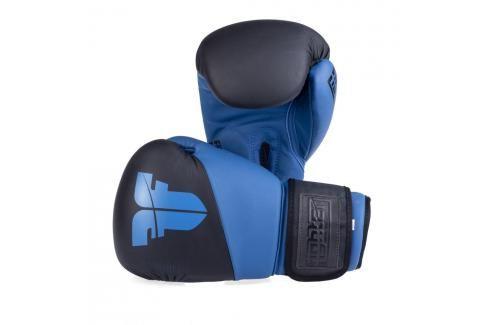 Boxerské rukavice Fighter SPLIT- černá/modrá černá 10 Boxerské rukavice