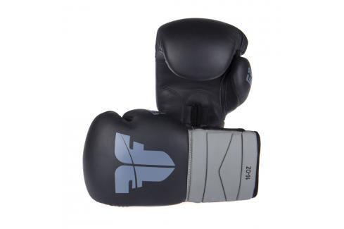 Boxerské rukavice Fighter Sparring - černá/šedá černá 14 Boxerské rukavice