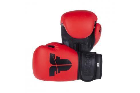Boxerské rukavice Fighter SIAM - červená červená 8 Boxerské rukavice