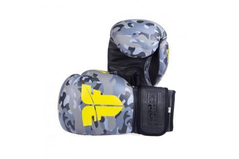 Boxerské rukavice Fighter SIAM - maskáč maskáč 8 Boxerské rukavice