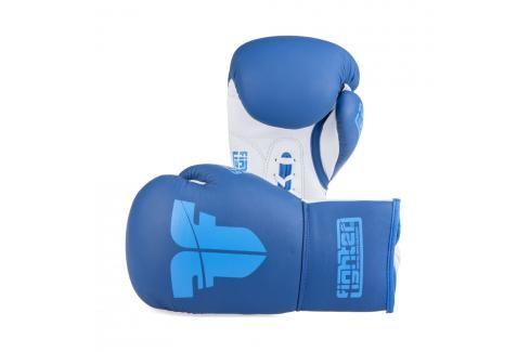 Boxerské rukavice Fighter Competition Pro - modrá modrá 8 Boxerské rukavice