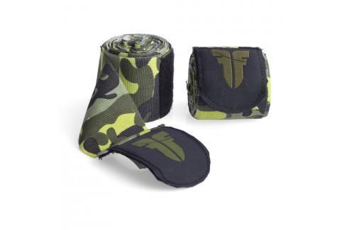 Bandáže Fighter - zelený maskáč zelený maskáč 2,5 Boxerské bandáže