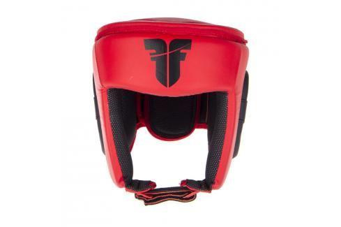 Přilba Fighter SIAM Competition - červená červená L/XL Boxerské helmy