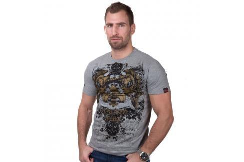 Triko Top Ten MMA Unicorn šedá M Pánská trička