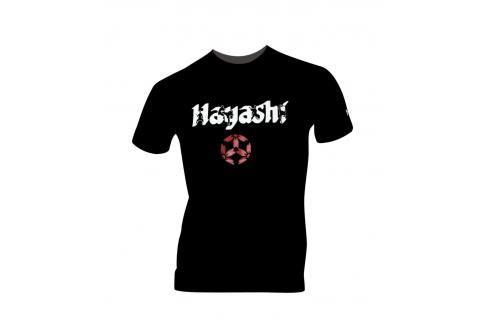Triko Hayashi Fighters černá S Pánská trička