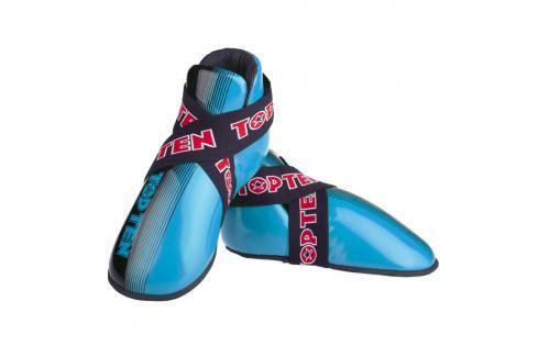 Chrániče nohou TOP TEN Acceleration - černá/modrá černá XS Boxerské chrániče